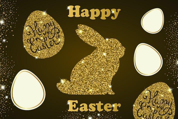 Thumbnail for Golden Easter Cards