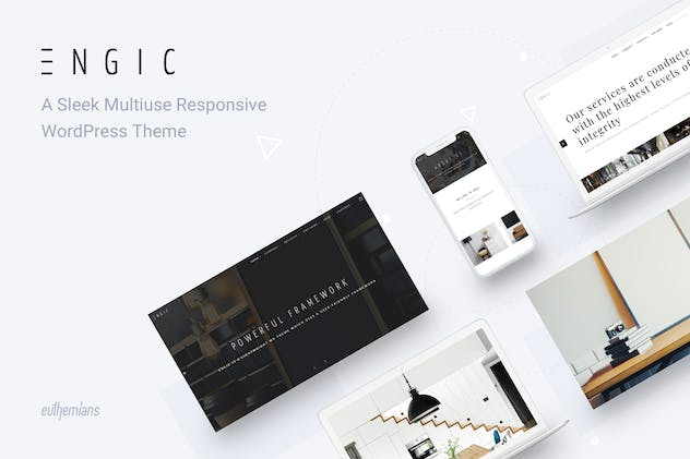 Engic - Multiuse Responsive WordPress Theme