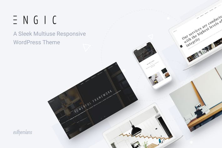 Thumbnail for Engic - Multiuse Responsive WordPress Theme