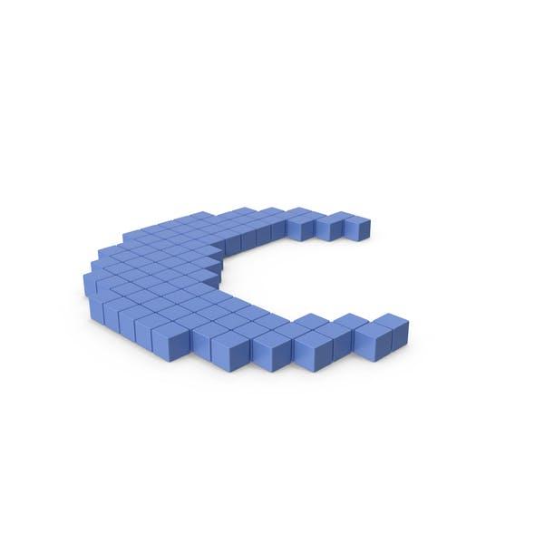 Thumbnail for Pixelated Moon Icon