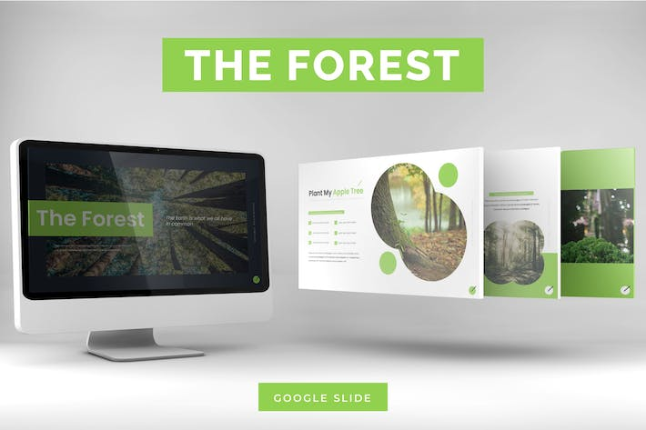 Thumbnail for The Forest - Google Slides Template