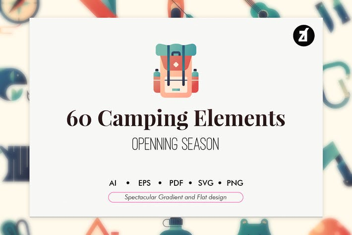 Thumbnail for 60 Elementos de camping