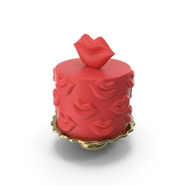 Thumbnail for Red Fondant Cake