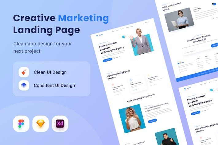 Creativee Marketing Landing Page