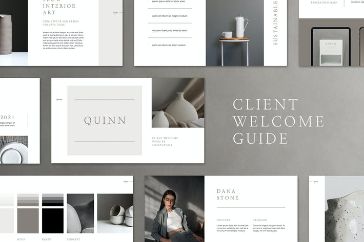 Thumbnail for QUINN Keynote Client Welcome Guide