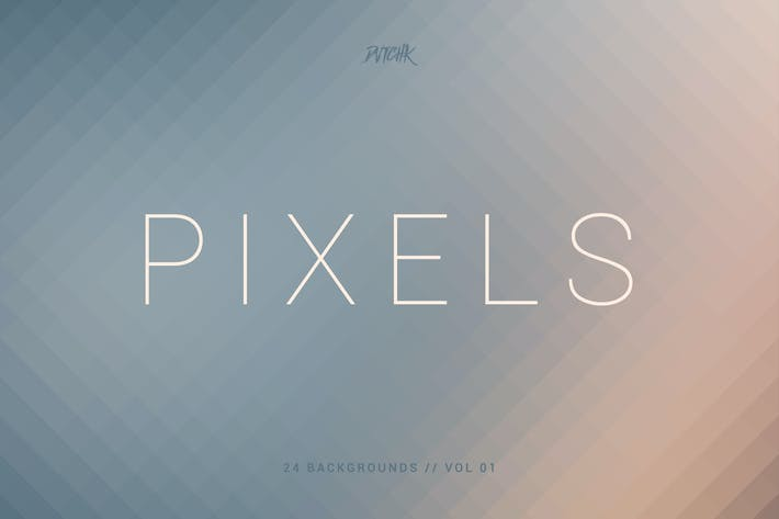 Thumbnail for Pixels | Pixelated Backgrounds | Vol. 01