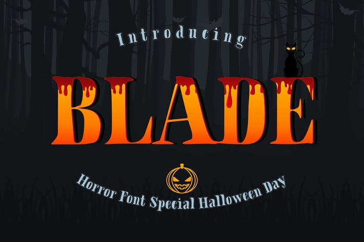 Thumbnail for Blade Font
