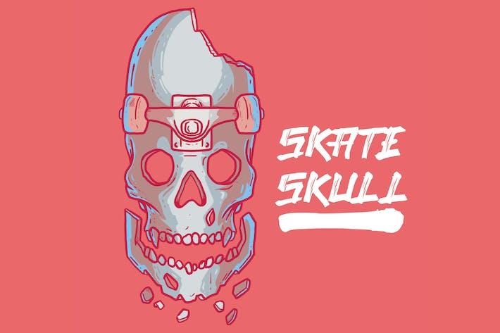 Thumbnail for Skateboard Skull