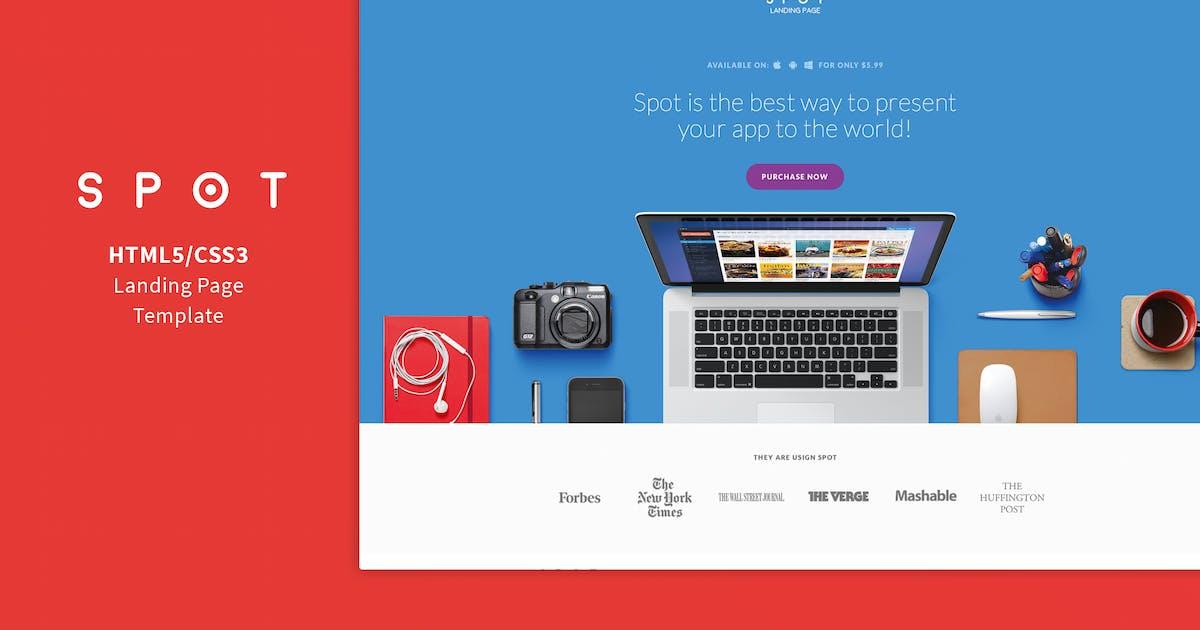Download SPOT - App / Service Landing Page by Shegy