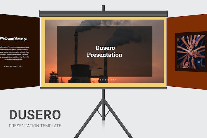 Thumbnail for Dusero - Pollution Awareness Keynote