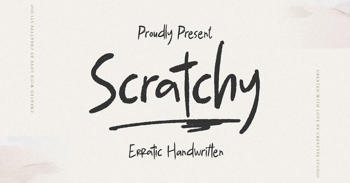 Download Scratchy Erratic Handwritten by RahardiCreative