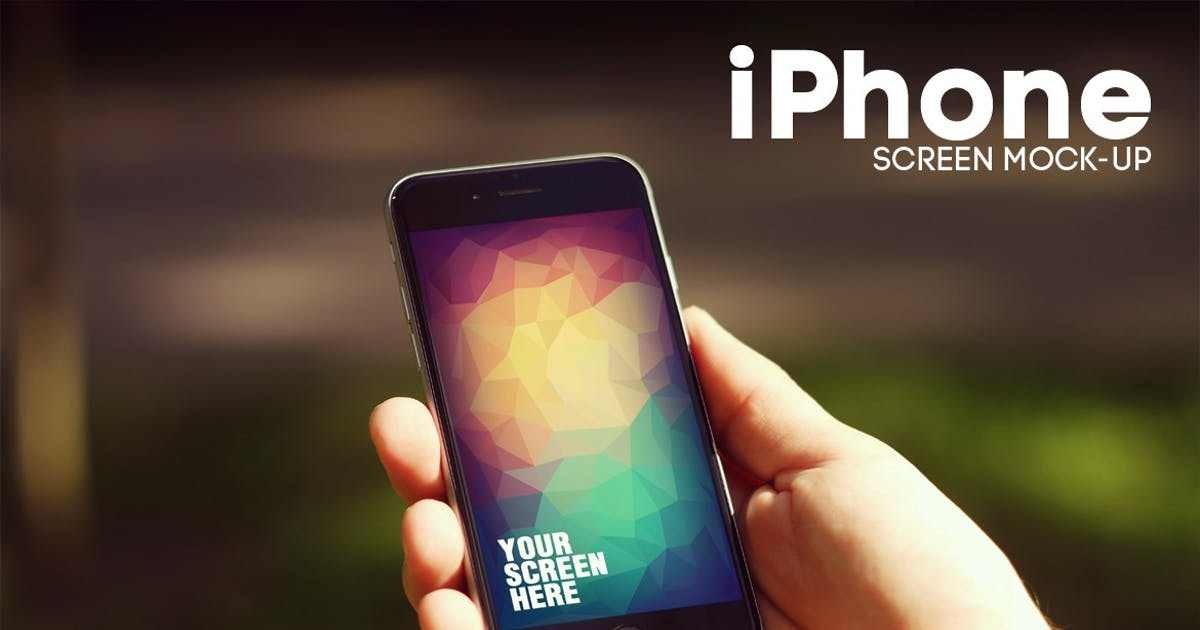 Download Tree Stump iPhone 6 Mockup by 2dsight