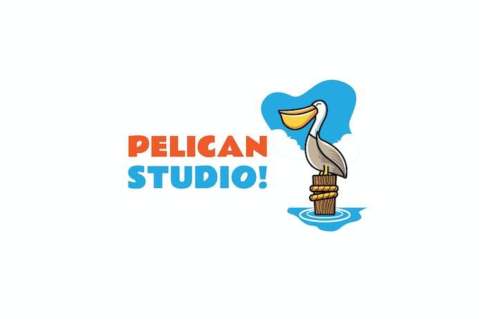 Thumbnail for Pelican - Mascot Logo
