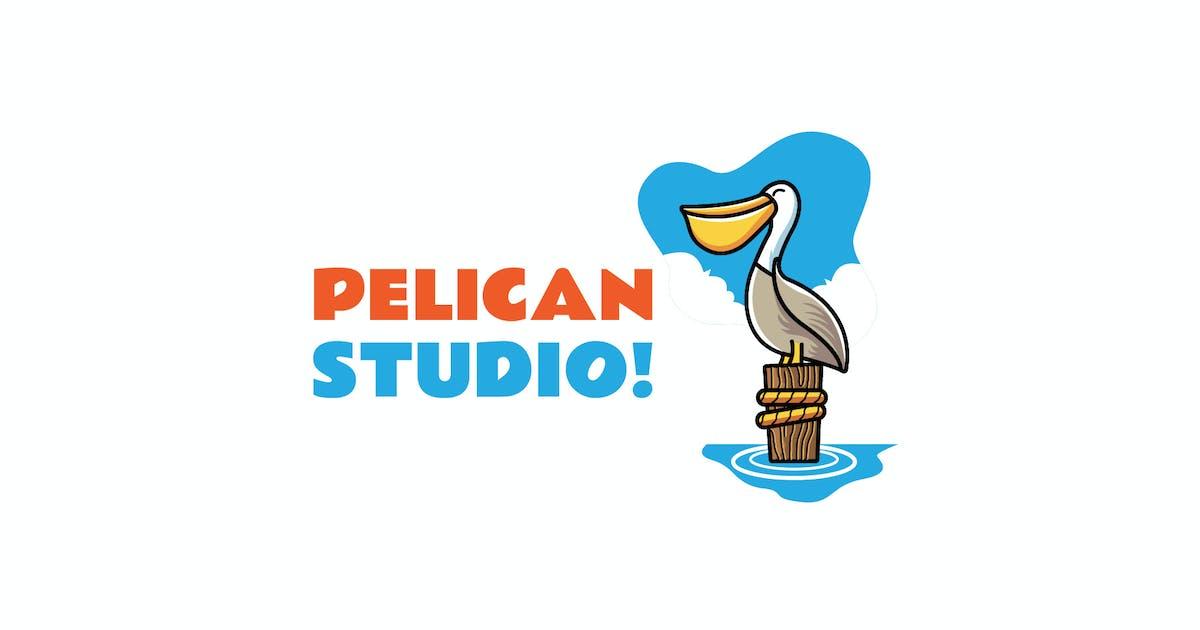 Download Pelican - Mascot Logo by aqrstudio
