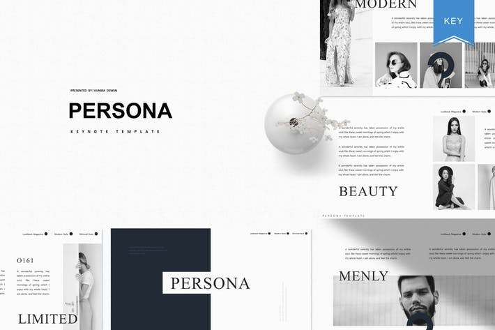 Thumbnail for Persona | Keynote Template