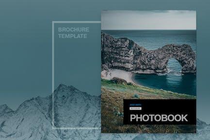 Minimal Photobook Brochure Template