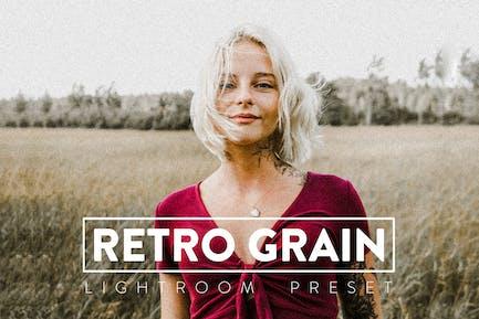 10 Retro Grain Lightroom Preset