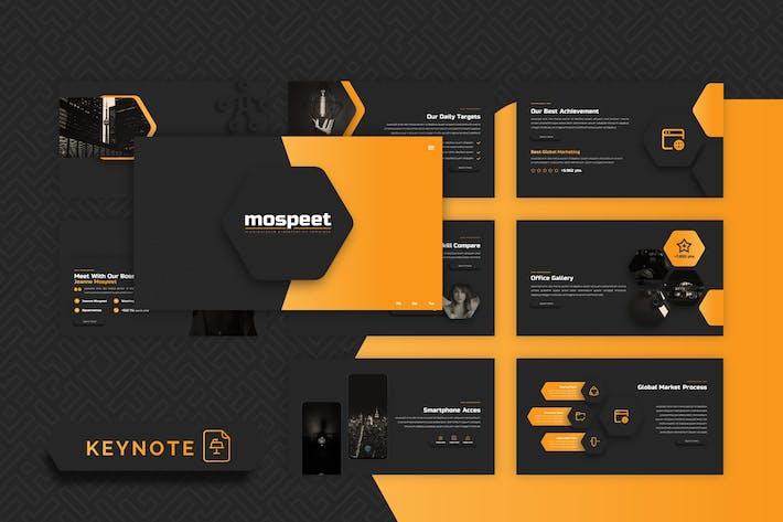 Thumbnail for Mospeet - Multipurpose Keynote Template