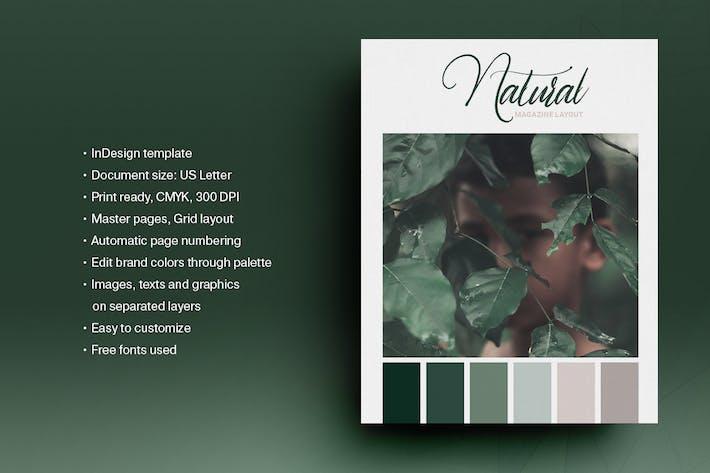 Magazine Green Natural