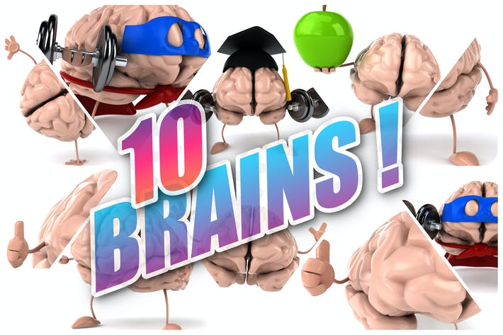Thumbnail for 10 fun Brains !