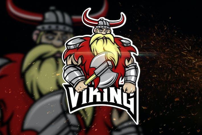 Thumbnail for Viking - AI and PSD Esport Logo Template