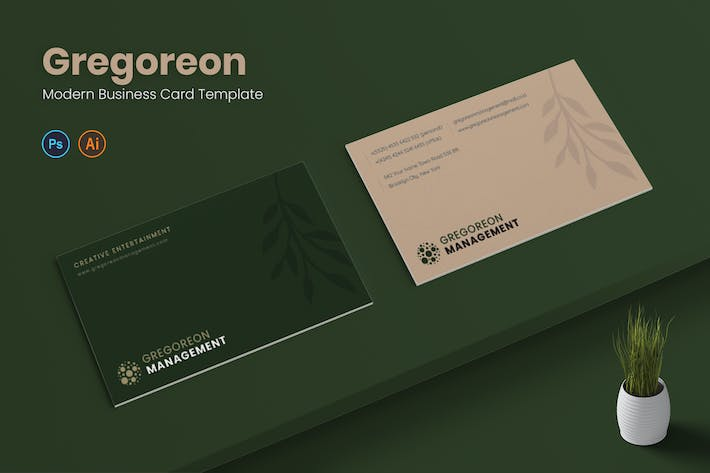 Thumbnail for Gregoreon Business Card