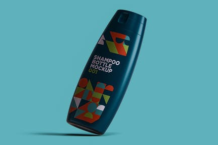 Shampoo Bottle Mockup 001