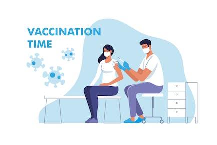 Coronavirus-Impfung