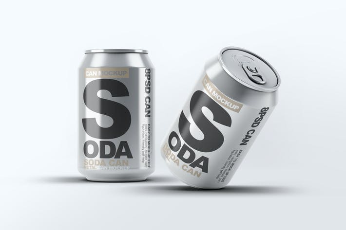Thumbnail for Soda Can Mock-Up