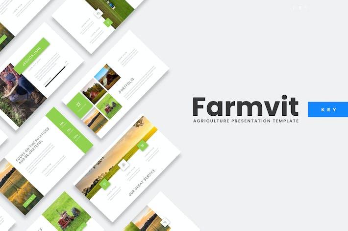 Thumbnail for Farmvit - Agriculture Keynote Template