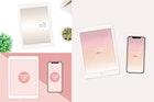 Ipad and Iphone Mock Up