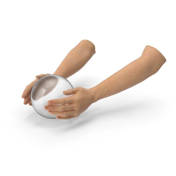 Hands Crystal Ball