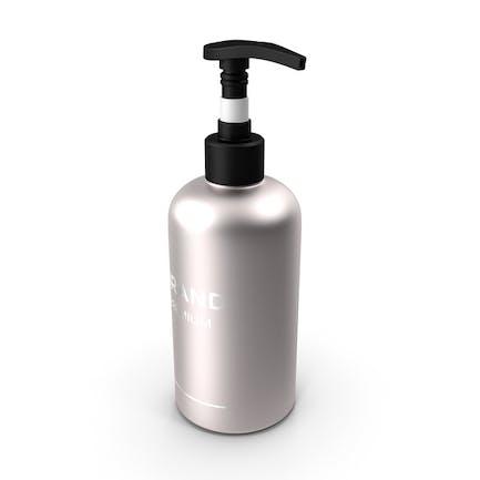 Botella de bomba cosmética negra
