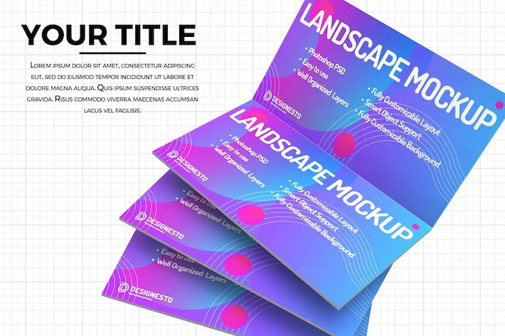 Thumbnail for Presentation – Creative Mockup Template