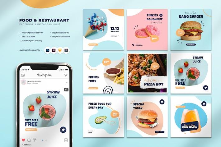 Thumbnail for Food & Restaurant Instagram Post