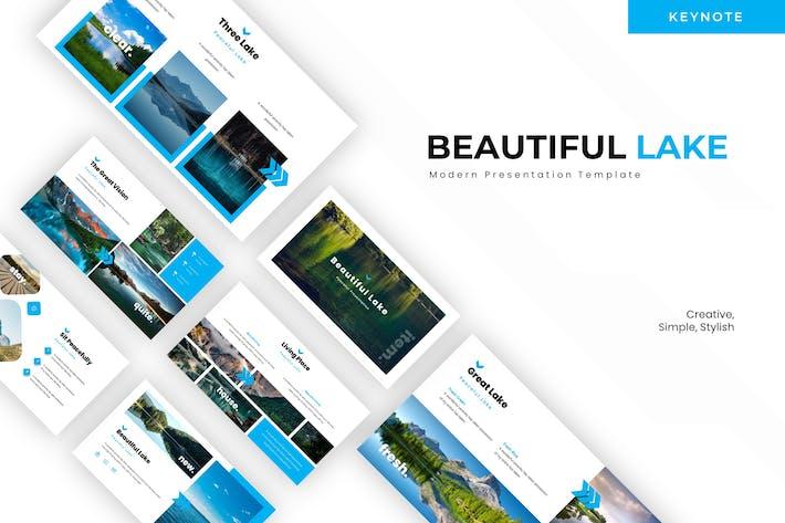 Thumbnail for Beutiful Lake - Keynote Template