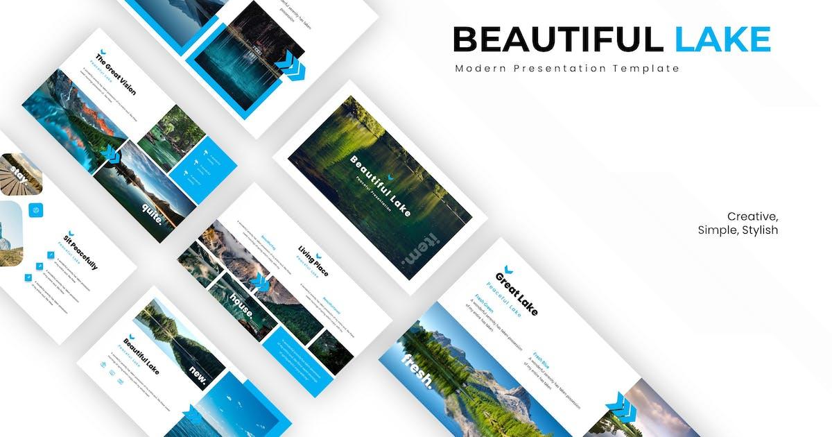 Download Beutiful Lake - Keynote Template by karkunstudio