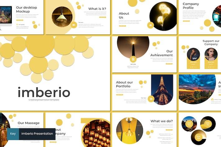 Thumbnail for Imberio - Keynote Template