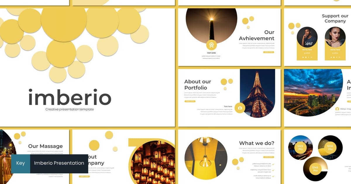 Download Imberio - Keynote Template by inspirasign