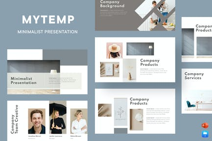 Mytemp - Minimal Presentation Template