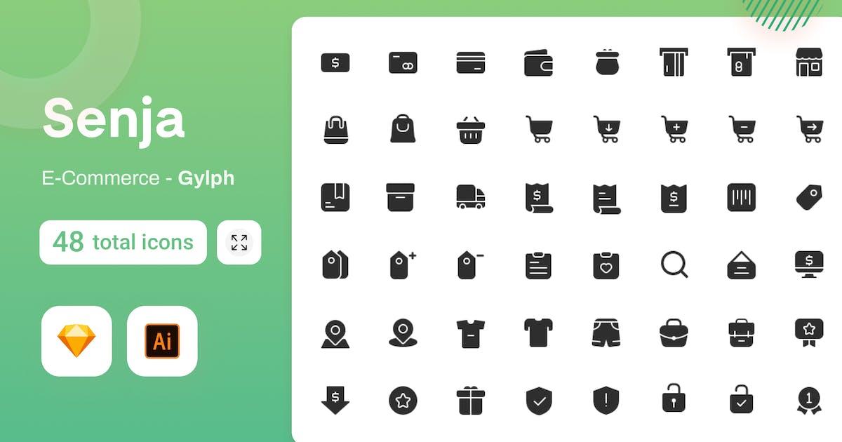 Download Gylph Senja - E-Commerce by sudutlancip