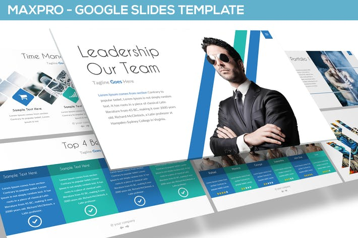 Thumbnail for MAXPRO - GOOGLE SLIDES TEMPLATE