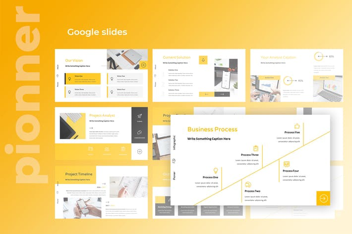 Pionner - Multipurpose Google Slides Presentation