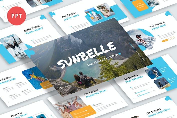 Thumbnail for Шаблон Powerpoint Sunbelle