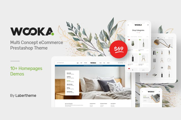 Thumbnail for Wooka - Responsive Prestashop 1.7 Tema