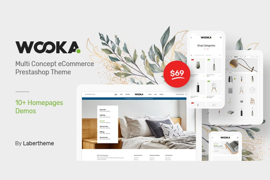 Wooka - Responsive Prestashop 1.7 Theme - product preview 0
