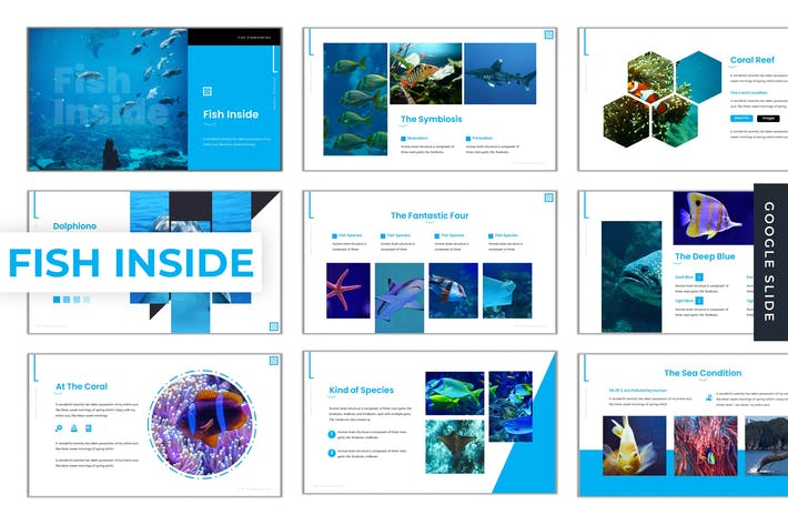 Thumbnail for Fish Inside - Google Slide Template