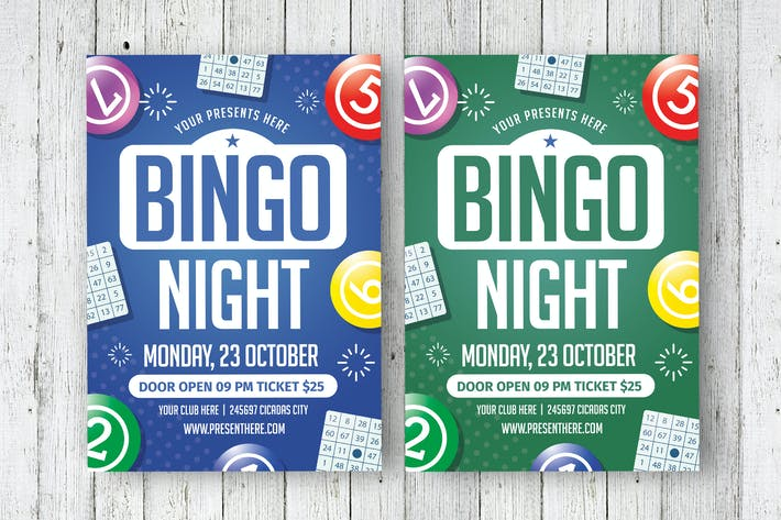 Bingo Night Flyer By Lilynthesweetpea On Envato Elements