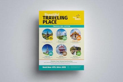 Reise-Flyer