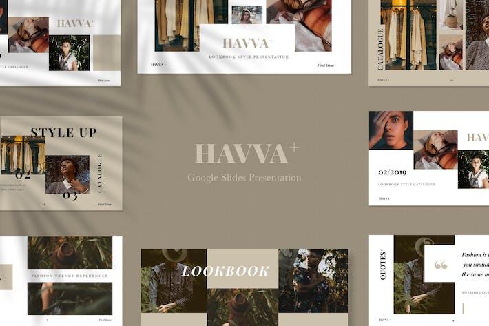 Thumbnail for Havva+ Google Slides Presentation